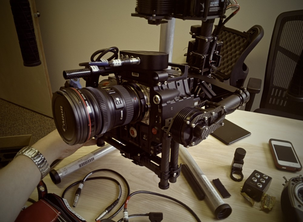 Red Epic & 16-35mm Canon Lens